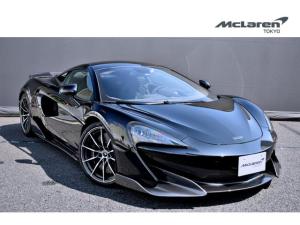 マクラーレン 600LT  左H McLaren Qualified Tokyo 認定中古車 セキュリティパック ダイヤモンドカットホイールフィニッシュ フロントリフター パーキングセンサー リアカメラ