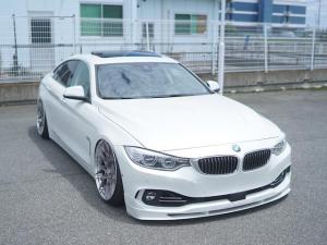 BMW 4シリーズ 435iグランクーペ ラグジュアリー BC foged ACCUAIR