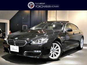 BMW 6シリーズ 640iグランクーペ ACC 白革 SR HUD 2年保証
