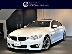 BMW 4シリーズ 435iグランCP Mスポ 追ACC 黒革 サンR 2年保証