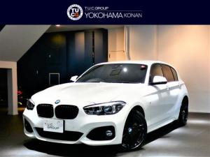 BMW 1シリーズ 118i Mスポーツ エディションシャドー 1オーナー コンフォA 追従ACC 茶革 タッチP対応ナビ Bカメラ 前後センサー LEDライト インテリS/レーンDW 2年保証