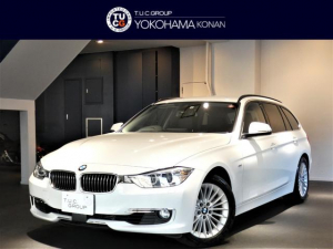 BMW 3シリーズ 320iツーリング ラグジュアリー コンフォA 追従ACC インテリS/レーンDW 黒革 ヒーター ナビ Bカメラ Rセンサー キセノン オートテールゲート 2年保証