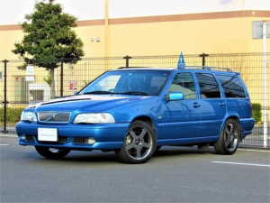 ボルボ V70 R AWD ボルボ復刻車 レザーブルーR-AWD サンルーフ 本革シート