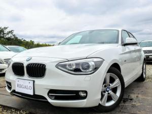 BMW 1シリーズ 116iスポーツHID純正iDriveナビ禁煙ドラレコETC