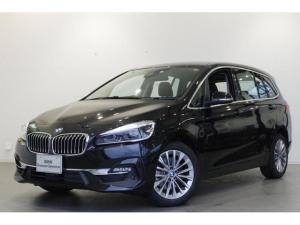 BMW 2シリーズ 218dグランツアラー ラグジュアリー ACC 黒革シート