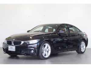 BMW 4シリーズ 420iグランクーペ Mスポーツ コニャックレザーシート アクティブクルーズコントロール フロント電動シート 地デジTV リアビューカメラ PDC シートヒーター 電動テールゲート パドルシフト