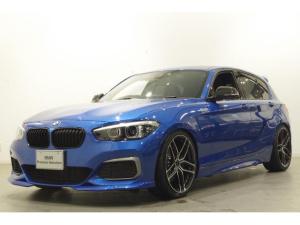 BMW 1シリーズ M140i エディションシャドー セレクトP SR 黒革席 TV リアモニター ドライビングアシスト パーキングアシスト リアビューカメラ フロントシートヒーティング ETC