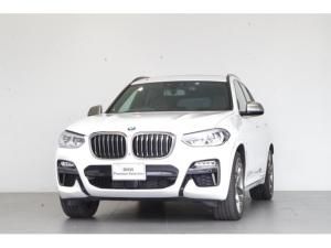 BMW X3 M40d セレクト・パッケージ 電動パノラマガラスサンルーフ 茶本革 追従クルコン 純正HDDナビ アンビエントライト ETC harman/kardonサウンド 純正ドライブコーダー 純正21インチAW