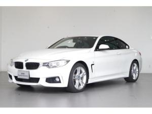 BMW 4シリーズ 420iクーペ Mスポーツ 弊社下取り車輛 純正8.8インチHDDナビシステム リアビューカメラ ETC フロント電動シート