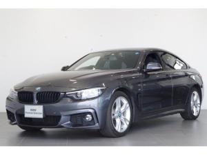 BMW 4シリーズ 420iグランクーペ Mスポーツ 前車追従クルコン フルセグTV バックカメラ 純正HDDナビ 純正ドライブレコーダー カーフィルム ブラックキドニーグリル LEDヘッドライト 18インチホイール ETC