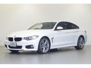 BMW 4シリーズ 420iグランクーペ Mスポーツ ワンオーナー フルセグTV 純正17インチAW 純正HDDナビ シートヒーター 電動テールゲート バックカメラ 前後コーナーセンサー 追従クルコン
