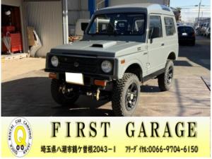 スズキ ジムニー 5MT 4WD リフトアップ パノラミックルーフ 16AW