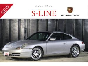 ポルシェ 911 911カレラ SR 左H 黒革シート18ブロンバッハAW