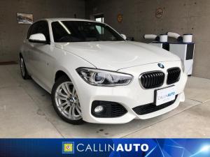BMW 1シリーズ 118i Mスポーツ パーキングサポートPKG インテリジェントセーフティ レーンディパーチャーウォーニング 純正ナビ Bカメラ 社外地デジチューナー