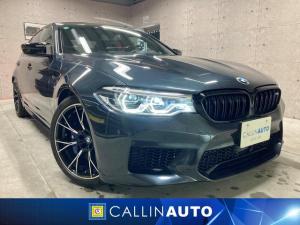 BMW M5 コンペティション ヘッドアップディスプレイ メリノレザー 20インチライトアロイホイール 360°カメラ Harman Kardon コンフォートアクセス トランクリッドスマートオープナー おくだけ充電