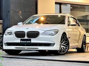 BMW 7シリーズ 740i・ENERGY20インチ・社外フロントスポイラー・ 社外トランクスポイラー・前後カーボンエンブレム・コンフォートPKG・シートヒーター・ベンチレーション・ナビ・TV・Bカメラ・サンルーフ・電動トランク・後席電動シェード・PUSHスタート・ETC・記録簿