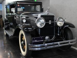 キャデラックリムジン 左ハンドルMT 観音4ドア モケットインテリア 左ハンドル 341シリーズロイヤルリムジン 1929年式 エンジン始動OK 車検3年6月