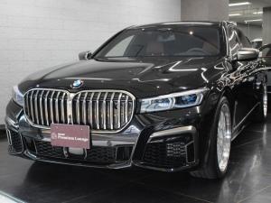 BMW 7シリーズ M760Li xDrive 左ハンドル ブラウンレザー BBS21インチホイール ツインサンルーフ B&Wオーディオ リアエンターテイメント