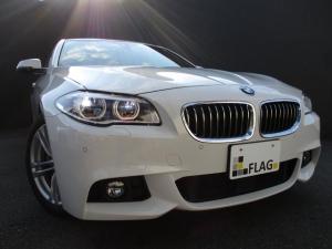 BMW 5シリーズ 523d Mスポーツ ワンオーナー ブラウンレザースポーツシート 前後シートヒーター アダプティブLEDヘッドライト レーンチェンジウォーニング GPSレーダー ドライブレコーダー 走行中TV視聴可 禁煙車