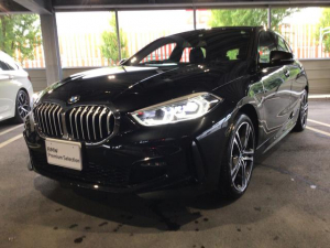 BMW 1シリーズ 118i Mスポーツ 当社試乗車・ナビ・コンフォートパッケージ・純正18インチアルミ・運転席パワーシート・電動リヤゲート・アクティブクルーズコントロール・バックカメラ・ミラーETC・LEDヘッドライト・LEDフォグランプ