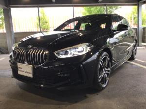 BMW 1シリーズ 118i Mスポーツ 当社試乗車・ナビパッケージ・コンフォートパッケージ・純正18インチアルミ・運転席パワーシート・アクティブクルーズコントロール・バックカメラ・ミラーETC・LEDヘッドライト・LEDフォグランプ