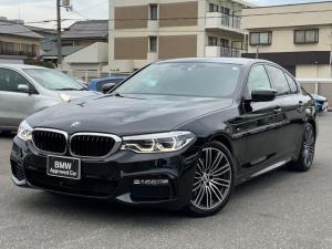 BMW 5シリーズ 523d Mスポーツ ハイラインパッケージ イノベーションPKG ブラックレザー 19AW ワンオーナー 車検付