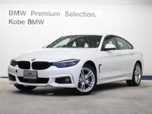 BMW 4シリーズ 420iグランクーペ Mスポーツ黒革アダプティブLEDライト