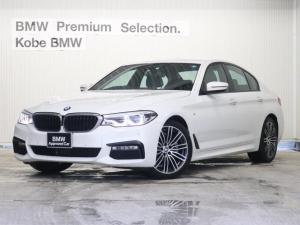 BMW 5シリーズ 523d Mスポーツ黒革ハイラインPKGイノベーションPKG