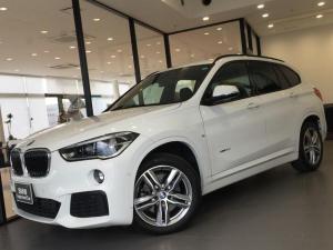 BMW X1 xDrive 20i Mスポーツ コンフォートPKG 電動フロントシート 電動リヤゲート シートヒーター 社外地デジTV ドライビングアシスト HDDタッチナビ リヤカメラ パドルシフト パーキングサポート ミラー内蔵型ETC