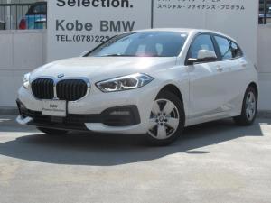 BMW 1シリーズ 118i パーキングアシスト・ナビパッケージ・レーンチェンジウォニング・BMWライブコックピット・携帯電話ワイヤレスチャ―ジング・LEDヘッドライト・16インチAW・PDC