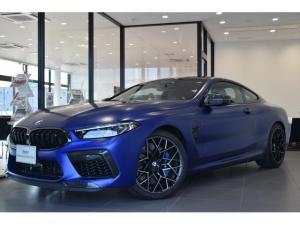 BMW M8 M8クーペ コンペティション 弊社新車顧客様下取車 1オーナー 禁煙車 MカーボンエクステリアPKG Mカーボンエンジンカバー Mエキゾーストシステム インディビカラー フルレザーメリノアルカンタラシート 20インチAW
