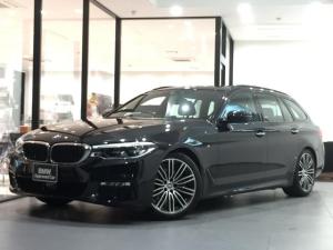 BMW 5シリーズ 523iツーリング Mスポーツ アクティブクルーズコントロール 全周囲カメラ 前後PDC 電動リアゲート 電動シート 衝突被害軽減ブレーキ フルセグTV 純正ミラーETC 純正HDDナビ アダプティブLEDヘッドライト フォグ