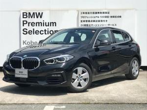 BMW 1シリーズ 118i プレイ 弊社デモカー BMW アルミニウムライン オートマチックテールゲートオペレーション クルーズC コンフォートPKG ワイヤレスチャージング パーキングアシスト 16AW