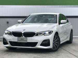 BMW 3シリーズ 320i Mスポーツ 弊社デモカー ハイラインパッケージ コンフォートパッケージ パーキングアシスト 後退アシスト 全周囲カメラ 純正18インチアルミホイール 純正HDDナビ アクティブクルーズコントロール 認定中古車