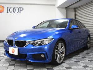 BMW 4シリーズ 428iグランクーペ Mスポーツ ホワイトフルレザー インテリジェントセーフティ ヘッドアップディスプレイ アクティブクルーズコントロール
