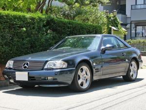 メルセデス・ベンツ SL SL320 99モデル 後期V6  5AT ナッパ革 HID