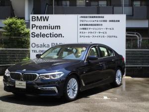 BMW 5シリーズ 523iラグジュアリー 弊社デモカー イノベーションP