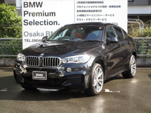BMW X6 xDrive 50i Mスポーツ オーナー車  赤レザー