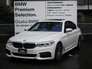 BMW 5シリーズ 530i Mスポーツ セレクトP サンルーフ 19AW