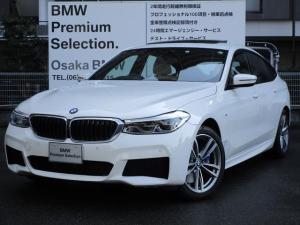 BMW 6シリーズ 630i グランツーリスモ Mスポーツ 弊社デモカー パノラマガラスサンルーフ ベージュレザー アクティブクルーズコントロール 電動リヤゲート フロントシートヒーター 衝突軽減ブレーキ LEDヘッドライト ヘッドアップディスプレイ
