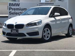 BMW 2シリーズ 218dアクティブツアラー 弊社下取りワンオーナー車 パーキングサポートパッケージ LEDヘッドライト 純正HDDナビゲーションシステム バックカメラ ミュージックコレクション DVD再生 衝突被害軽減システム