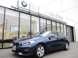 BMW 1シリーズ 118i プレイ 弊社デモカー ビジョンパッケージ ナビパッケージ コンフォートパッケージ アクティブクルーズコントロール ヘッドアップディスプレイ 電動リアゲート  アダプティブLEDヘッドライト 純正HDDナビ