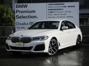 BMW 5シリーズ 523d xDriveMスポーツエディションジョイ+ 弊社デモカー 19インチホイール  ダイナミック・ダンピング・コントロール  黒レザー  LCI