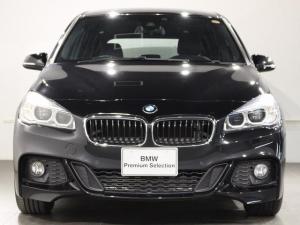 BMW 2シリーズ 218iグランツアラー Mスポーツ 当社試乗車 HDDナビ リアビューカメラ LEDヘッドライト