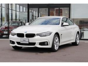 BMW 4シリーズ 420iクーペ Mスポーツ 当社試乗車 レザーシート ETC