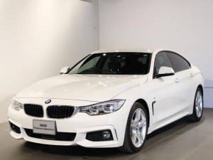 BMW 4シリーズ 420iグランクーペ Mスポーツ アクティブクルーズコントロール 衝突軽減ブレーキ 車線逸脱 後方検知 電動シート 18インチアロイホイール