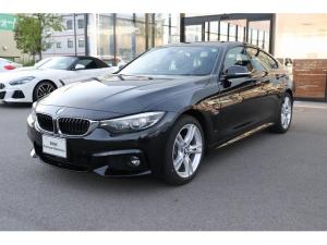BMW 4シリーズ 420iグランクーペ Mスピリット 衝突軽減ブレーキ 車線逸脱 後方検知 アクティブクルーズコントロール 18インチアロイホイール シートヒーター 電動シート