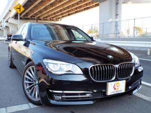 BMW 7シリーズ 750i コンフォート LEDヘッド 前後センサー スペアー バック&サイドカメラ Pトランク Mパワーシート&全席ヒーター&エアコン ヘッドアップディス 19AW ハンドルヒーター