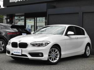 BMW 1シリーズ 118i 純HDDナビ・CD・ミュージックキャッチャー・USB・ETC・バックカメラ LED スマートキー 走行モード アイドリングSTOP オートライト 純正16AW
