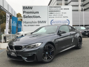 iBMW BMW M4 M4クーペ認定保証OP19インチAW黒革Mサスペンション